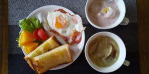 今日の夫の朝食