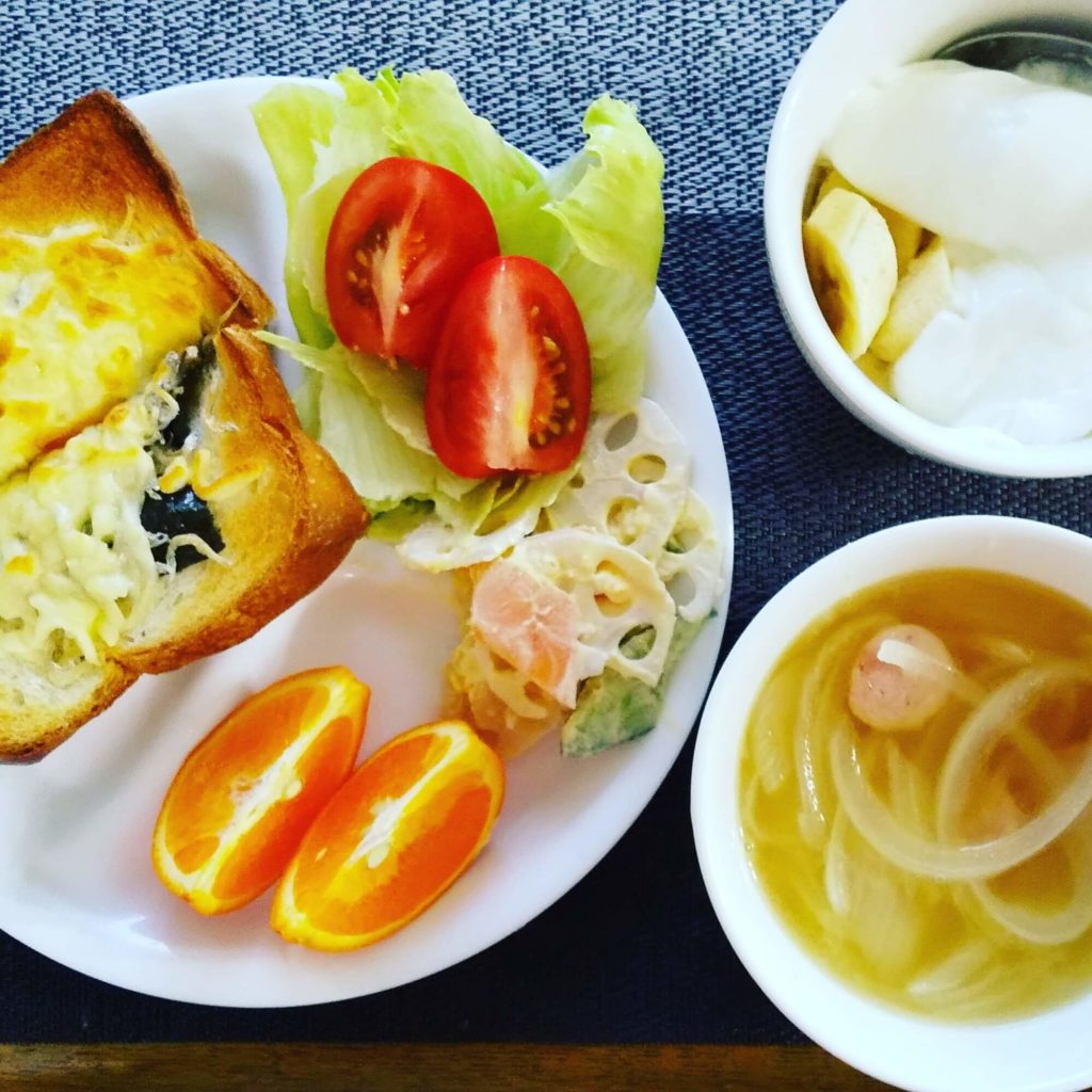 朝ごはん1