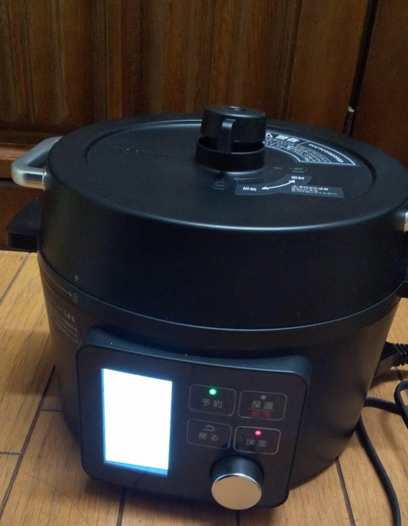 電子圧力鍋3